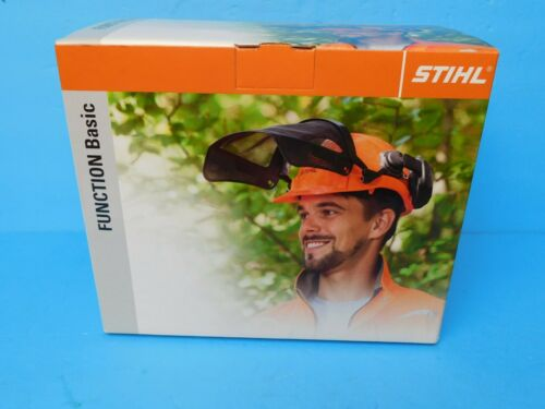STIHL HELMET SYSTEM HARDHAT EAR MUFFS FACE SHIELD PROTECTION NEW OEM STIHL