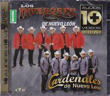 Los Invasores de Nuevo Len, Los Cardenales de Nuevo Leon Audios 10 Videos CD+DVD
