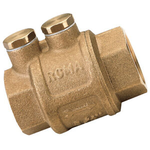 "IT100-38 3//8/""  BSP FEM BRASS CHECK VALVE EUROPA Itap Valves /& Push-in Plumbing"