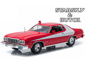 1 18 greenlight 1976 ford gran torino starsky hutch diecast red white 19017 ebay. Black Bedroom Furniture Sets. Home Design Ideas