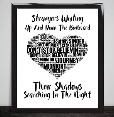 Michael Buble The Way You Look Tonight Music Love Heart Song Lyrics Art Print