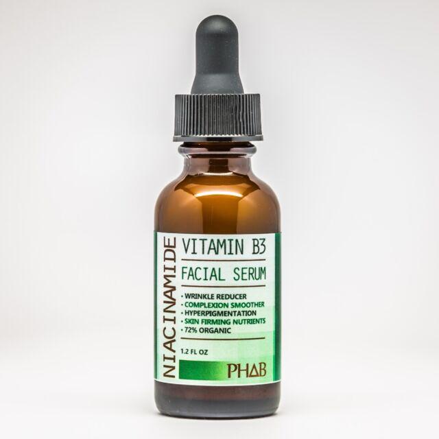 Niacinamide Vitamin B3 Serum - Ultimate Lightening Wrinkle Skin Cream 1.2oz