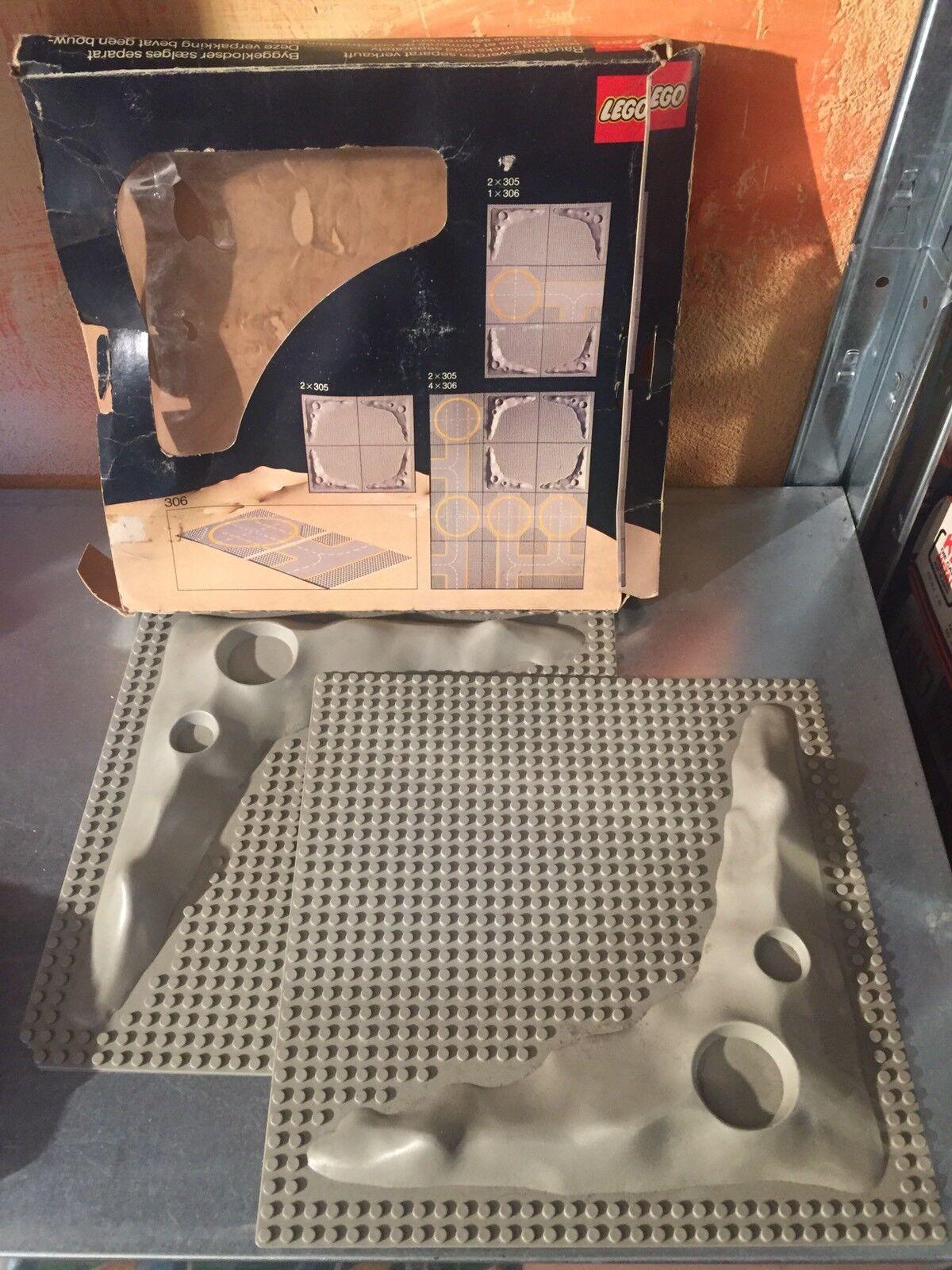 LEGO 305 Moon Land Plattform Mondkalender Raum PERFECT