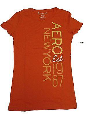 M,L 333404183 2-1 Authentic Women/'s AEROPOSTALE  T-Shirt Purple Size S