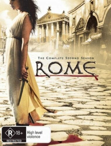 1 of 1 - Rome: The 2nd Season (DVD, 2008, 6-Disc Set)