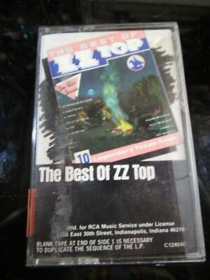 Other Formats Brilliant The Best Of Zz Top Cassette Tape~ Keep You Fit All The Time