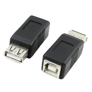 USB-Type-A-to-Printer-Scanner-Type-B-Adapter-Adaptor-Converter-Male-FemaleQ6Q