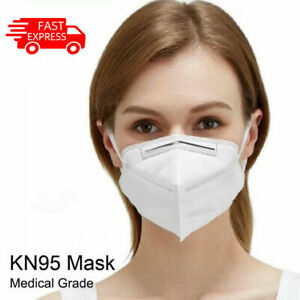 5Pcs/Pack KN95 Face Mask Disposable Activated Carbon Mouth Mask Unisex