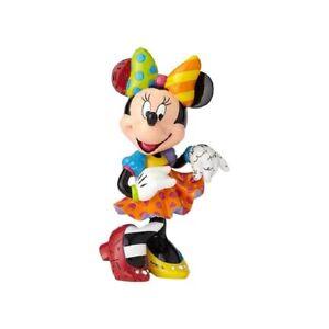 Romero Britto Disney Minnie Mouse 90th Anniversary Pop Art Figurine 6001011 New