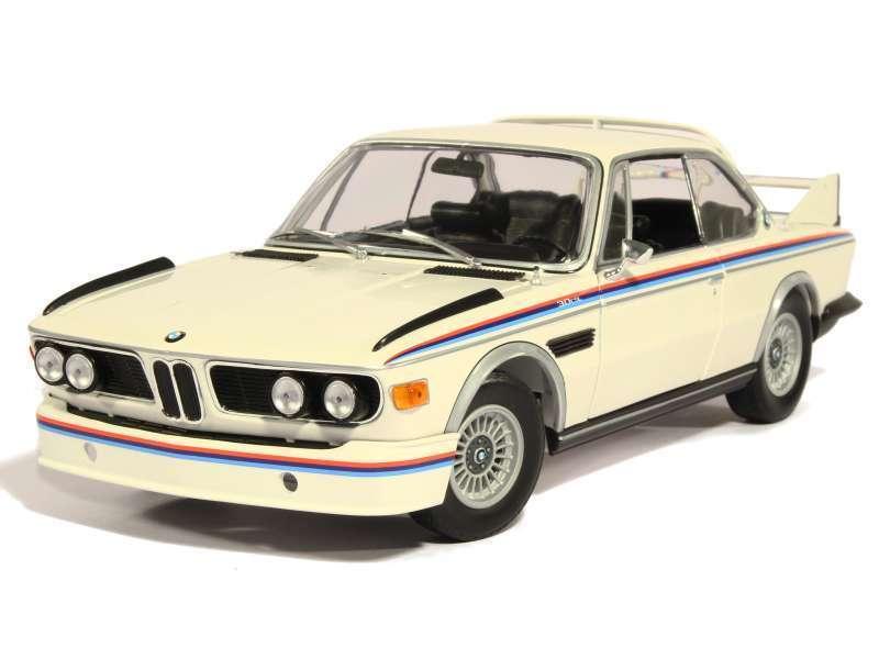 1 18 Minichamps BMW 3.0 CSL Bauj. 1973-75 alpinaweis e9  Batmobil  Dealer Edition