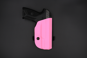 Right Hand Hybrid Armory Capsule SHO Pink Open Carry OWB Kydex Holster