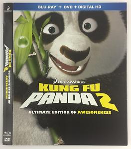 Kung Fu Panda 2 Slipcover Only For Blu Ray Glossy Dreamworks Ebay