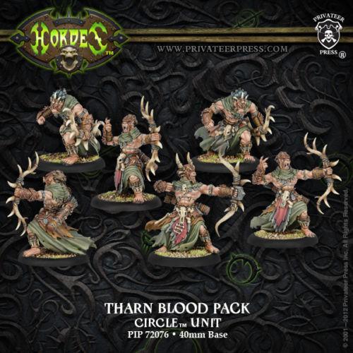 Tharn Blood Pack  PIP72076 Privateer Press Hordes Circle Orboros