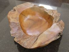 Natural Teak Root Wood Bowl 40cm
