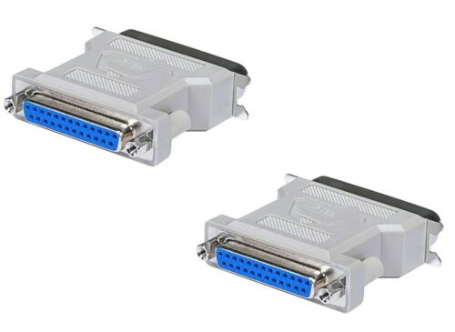 2x DB25 F//CN36 M Printer Adapter Parallel to Centronics Legacy Printer Adapter