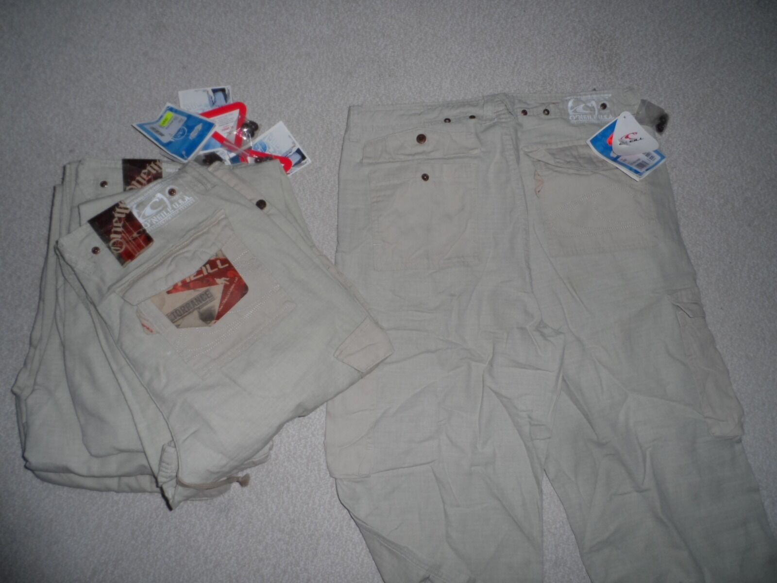 Restposten 6 x O'neill Leinen Leinen Leinen Hosen Freizeit Boutique Markenware NEU Original 5a7294