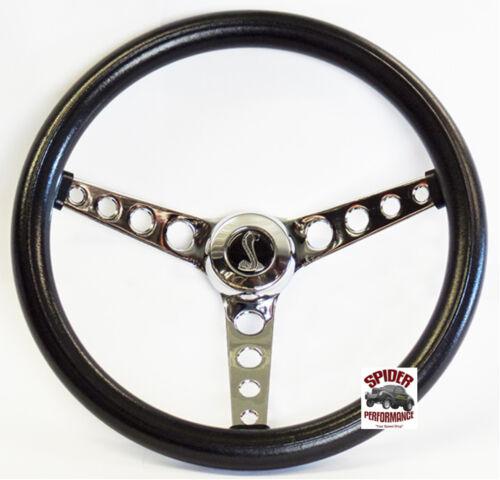 """1970-1976 Torino Gran Torino steering wheel COBRA 14 1//2/"""" CLASSIC CHROME"""