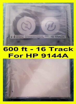 0hp Data Tape Cartridge 600ft 16 Track For Hewlett Packard 9144a