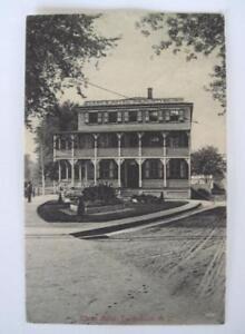 Black And White Postcard From >> 1915 Swedesboro Nj Black And White Postcard Of Swedesboro Hotel