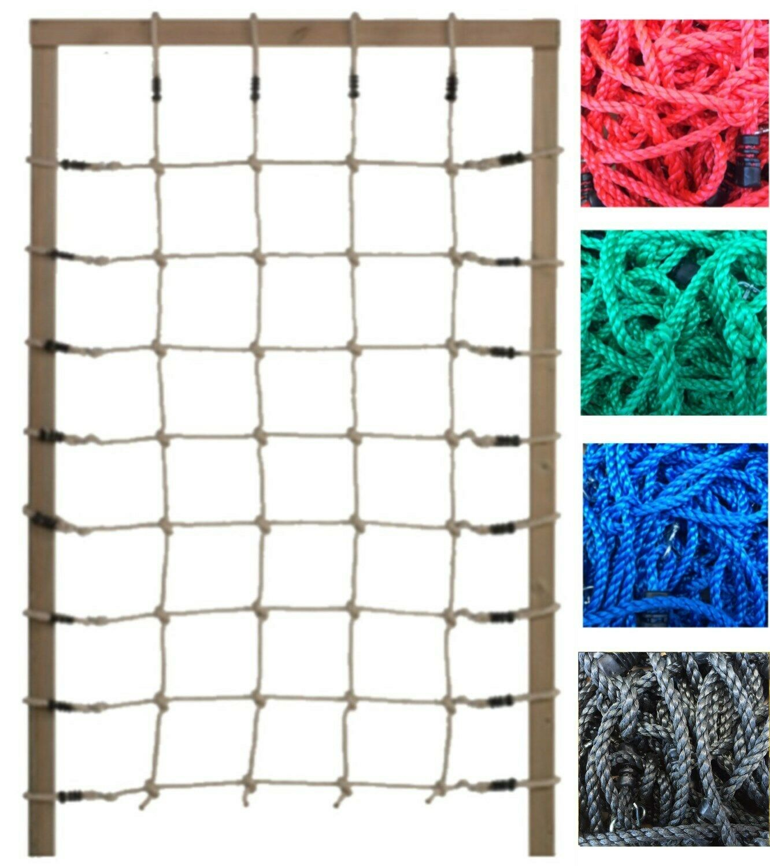 Kletternetz 75x200 cm Knotennetz Netz für Spielturm Kletterturm Abenteuerbett