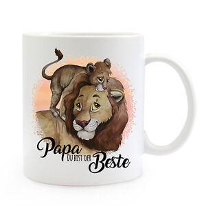 Trinklerntassen & -becher Der GüNstigste Preis Tasse Becher Löwe Löwenjunges Spruch Papa Der Beste Kaffeebecher Geschenk Ts874 Büro & Schreibwaren