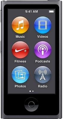 Apple iPod Nano 8th Generation Space Grey 16GB Grade B+ 2015 iPod Nano 12 Months