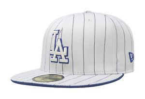 New Era 59Fifty Cap MLB Los Angeles Dodgers Mens Womens White Blue ... 687db5f1929