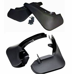 New-Genuine-Ford-Fiesta-MK7-2008-Onwards-Set-of-Front-and-Rear-Mud-Flaps-Guards