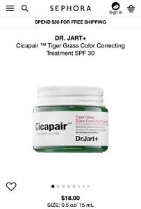 Cicapair Tiger Grass Color Correcting Treatment by Dr Jart+ #13
