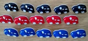 """11//16/"""" 28L Novelty polka dot round buttons in various colours size 18mm"""