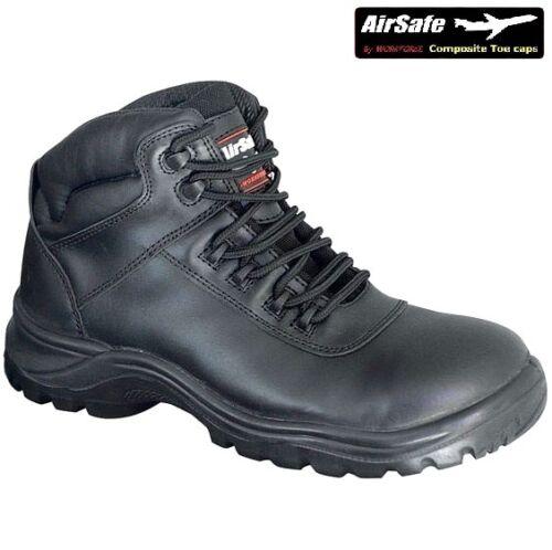 stivali Airsafe polizia tattici cuoio sicurezza di metallico del di uomini degli non neri gli Gli impermeabilizzano di uomini lavoro Ywq5zqT8