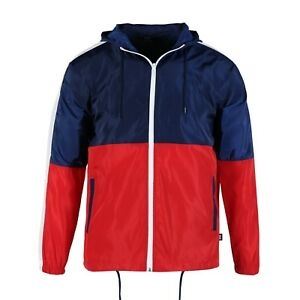 Men-Hood-Zip-up-Water-Resistant-Windproof-Windbreaker-Outdoor-Jacket-Gifts