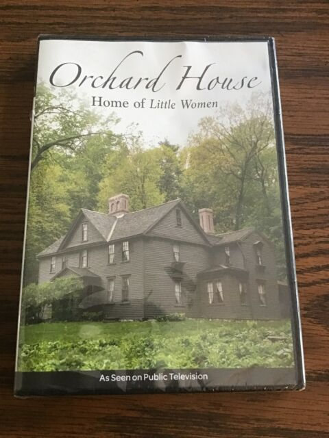 Orchard House Dvd Home Of Little Women Louisa May Alcott Pbs Documentary For Sale Online Ebay