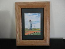 Canadian Artist Morag W. Ltd Ed 43/300 Islandscapes Art North Cape PEI Signed