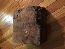 Cherry Burl Bowl Blank Craft wood Lathe Turning Resaw