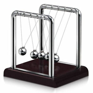 newton s cradle steel balance ball physics science pendulum desk fun