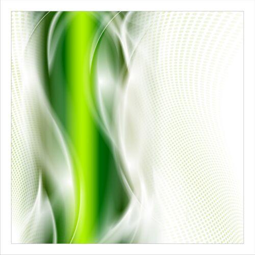 KÜCHENRÜCKWAND Spritzschutz Küche Gehärtetes Glas Vektor Abstraktion Grün