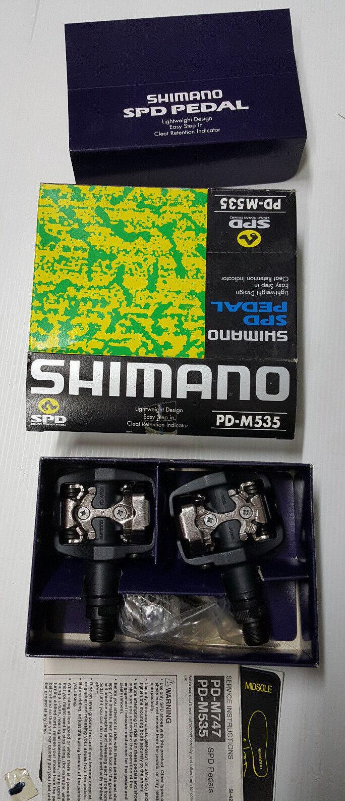 Pedali bici MTB Shiuomoo SPD PDM535 mountain bike pedals