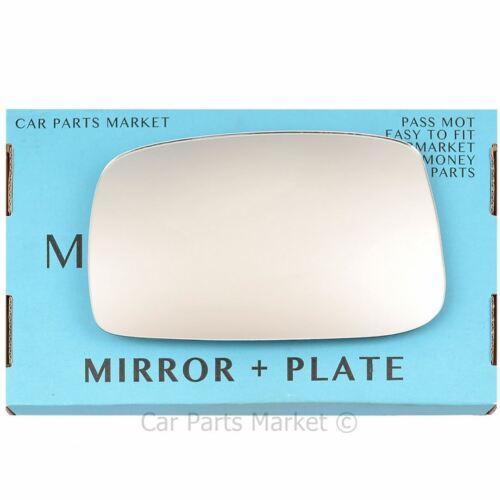 Pour Citroen C8 02-14 Gauche Côté Passager Aile Miroir De Verre Avec Plaque