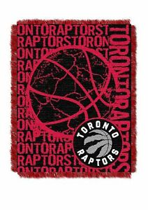 NBA-Toronto-Raptors-Triple-Woven-Jacquard-Throw-by-Northwest-NWT