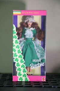 1995-Irish-2nd-Ed-Dolls-of-the-World-Barbie-Special-Edition-by-Mattel-OH