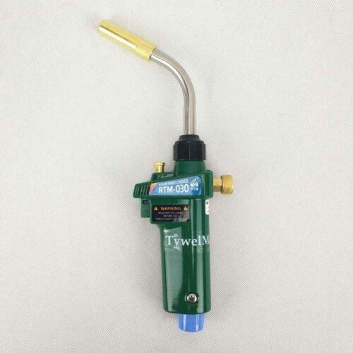 Braze Chalumeau MAPP Gaz Propane Torch auto ignition Trigger Style CGA600