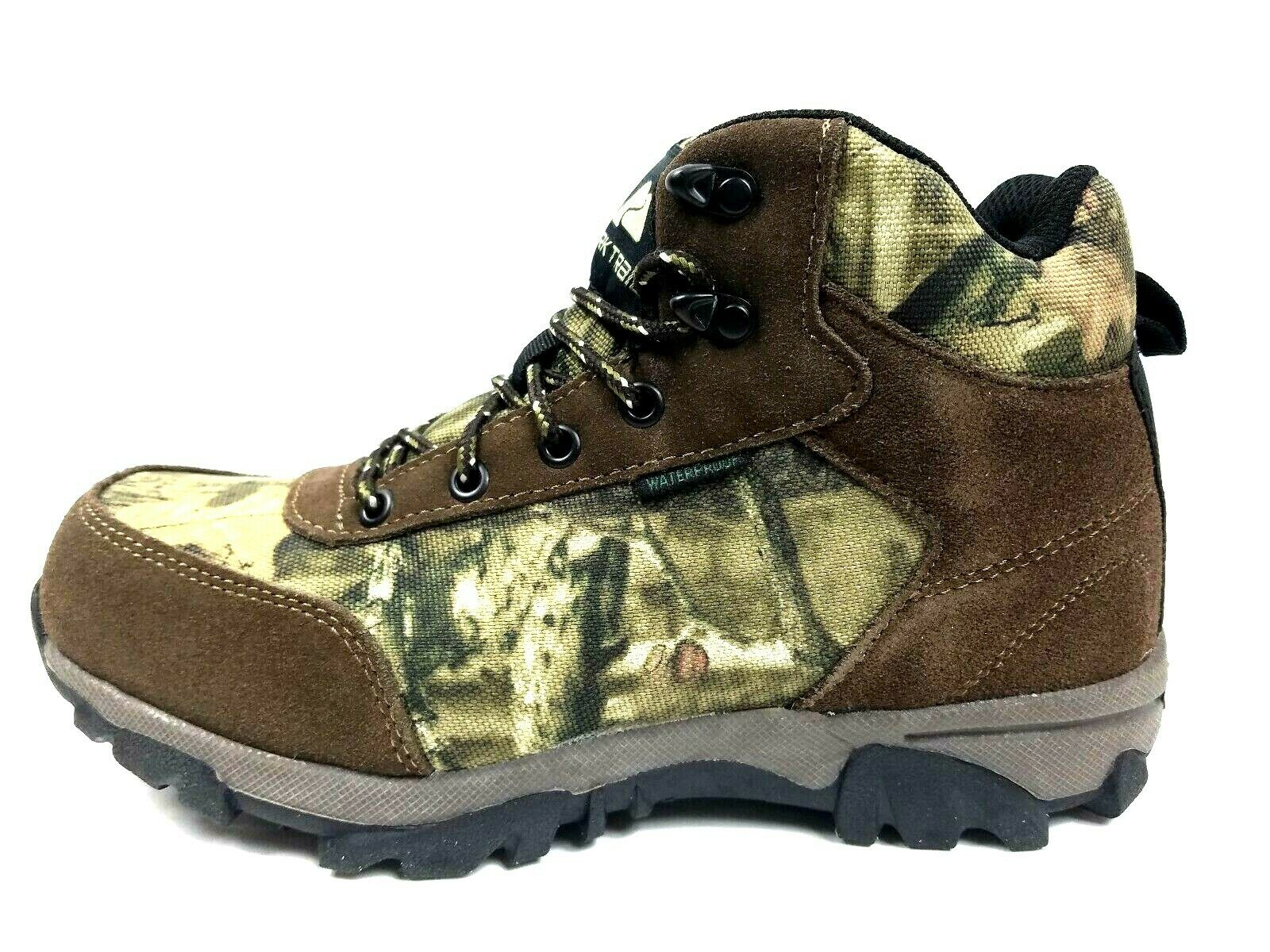 Men's Boots Hiking Hunting Camping Leather Waterproof shoes Boots Ozark Trails
