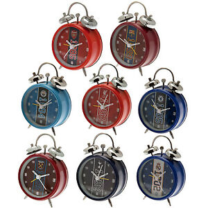 Official-Football-Club-ALARM-CLOCK-Est-Classic-Bell-Choice-of-Team-Gift