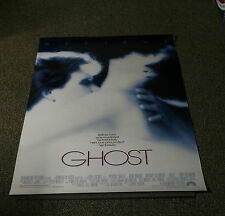 GHOST - ROLLED ORIGINAL 1-Sheet 27x40 MOVIE FILM Poster 1990 - PATRICK SWAYZE