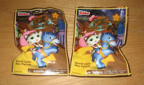Lot of 2 Disney Junior Sheriff Callie/'s Wild West Mini Figure Mystery Bag Packs