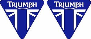 Triumph 2 Aufkleber für Motorrad Auto oder sonstwo moto sticker decal - Überherrn, Deutschland - Triumph 2 Aufkleber für Motorrad Auto oder sonstwo moto sticker decal - Überherrn, Deutschland