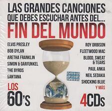 CD - Las Grandes Canciones Fin Del Mundo NEW Los 60's 4 CD's FAST SHIPPING !
