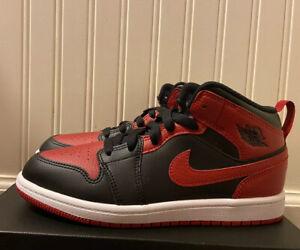 Jordan 1 Mid Banned / Bred Size 3Y