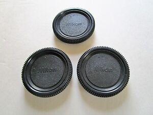 Nikon style- 12 x Body Caps for All Nikon F SLR/DSLR Cameras.Fast U.S. shipping